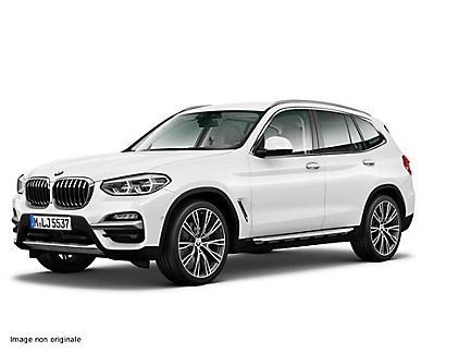 BMW X3 xDrive25d 231 ch Finition Luxury (tarif mars 2018)