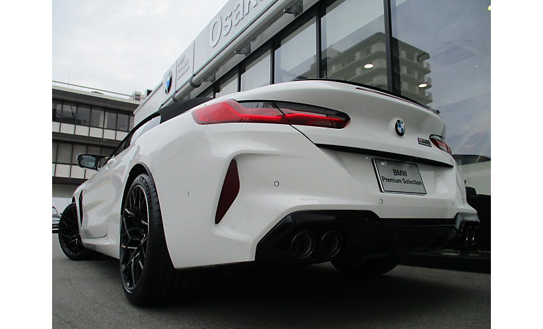F91 M8 Competition Convertible S63 4.4i