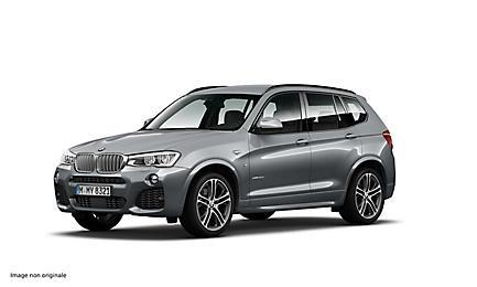 BMW X3 xDrive30d 258 ch Finition M Sport
