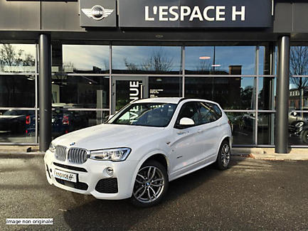 BMW X3 xDrive30d 258 ch Finition M Sport