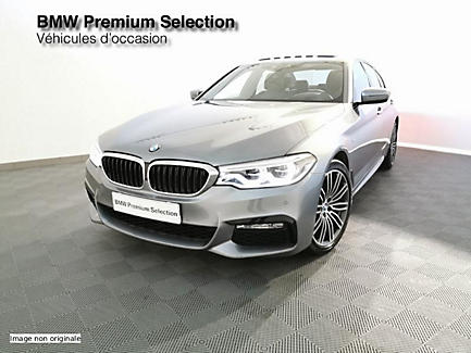 BMW 520d 190 ch BVM Berline Finition M Sport (tarif fevrier 2018)