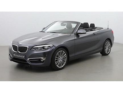 BMW 218d 150 ch BVA Cabriolet Finition Luxury