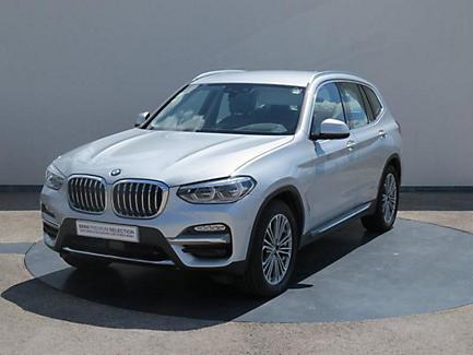 BMW X3 sDrive18d 150 ch Finition Luxury (tarif mars 2018)