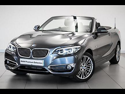 BMW 218i 136 ch Cabriolet Finition Luxury