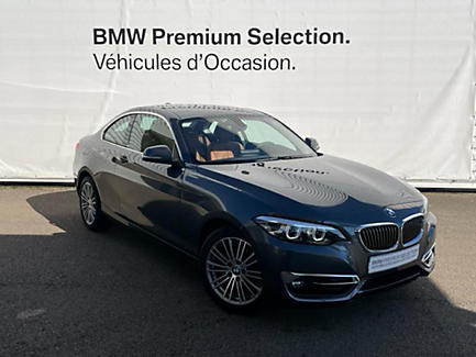 BMW 218i 136 ch Coupe Finition Luxury