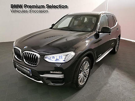 BMW X3 xDrive20d 190 ch Finition Luxury (tarif mars 2018)