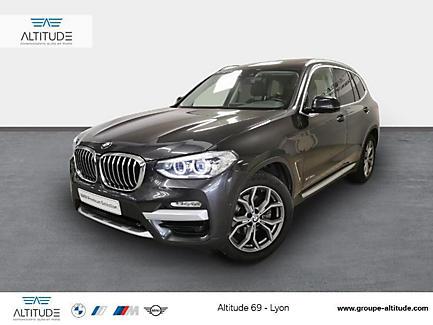 BMW X3 xDrive20d 190 ch Finition xLine (tarif mars 2018)
