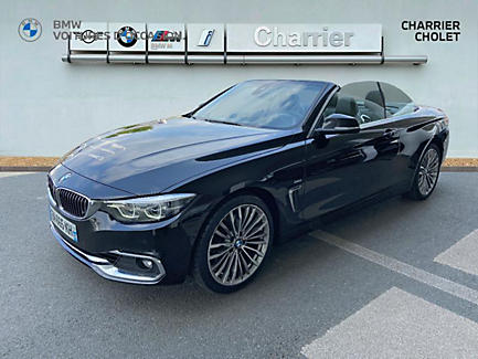 BMW 430d 258 ch Cabriolet Finition Luxury