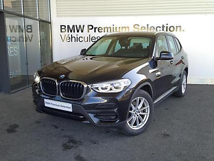 BMW X3 sDrive18d 150 ch Finition Business (tarif mars 2018)