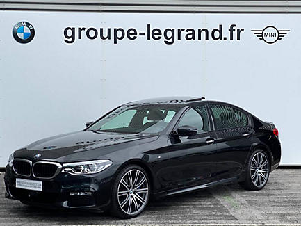BMW 540i xDrive 340ch Berline Finition M Sport (tarif fevrier 2018)
