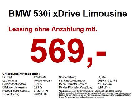 530i xDrive Limousine Luxury Line