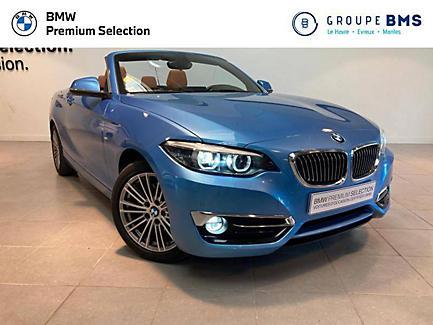 BMW 220d 190 ch Cabriolet Finition Luxury