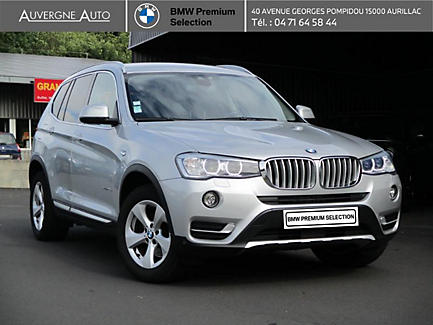 BMW X3 xDrive20d 190 ch Finition xLine