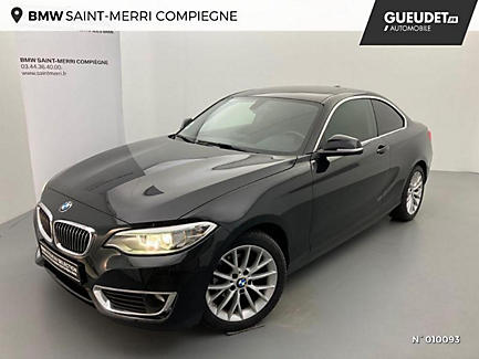 BMW 218d 150 ch Coupe Finition Luxury