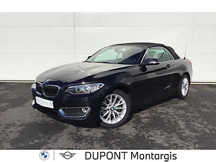 BMW 220d 190 ch Cabriolet Finition Luxury
