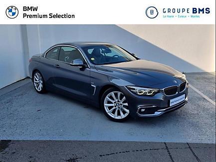 BMW 420d 190 ch Cabriolet Finition Luxury