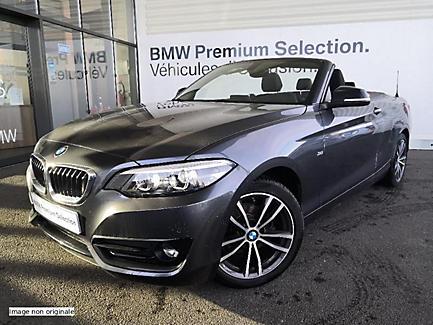 BMW 218d 150 ch BVA Cabriolet Finition Sport