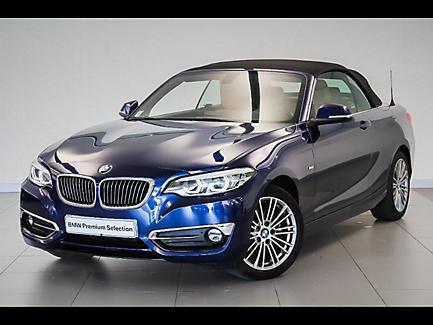 BMW 220i 184 ch Cabriolet Finition Luxury