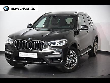 BMW X3 xDrive30d 265 ch Finition Luxury (tarif mars 2018)