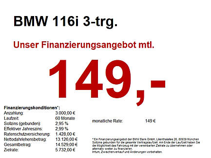 116i 3-Türer