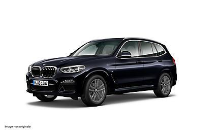 BMW X3 xDrive20d 190 ch Finition M Sport (tarif mars 2018)
