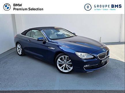 BMW 640d 313 ch Cabriolet Finition Exclusive
