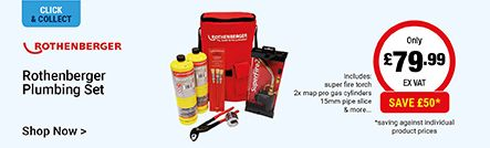 Rothenberger Plumbing Set