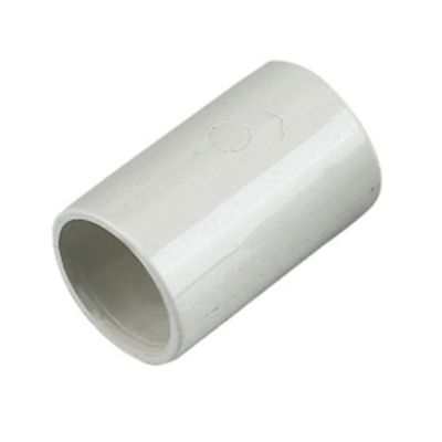 Floplast 21 5mm Overflow System Coupling White Pack Of 5 Os10w