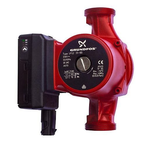 Grundfos UPS2 25-80 Circulating Pump 98707848