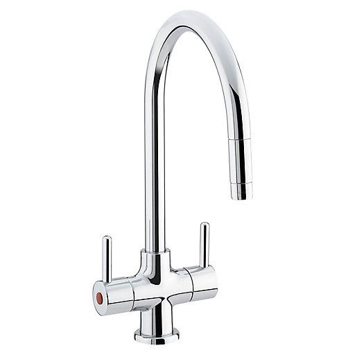 Bristan Beeline Monobloc Kitchen Sink Mixer Tap With Pull Out Nozzle Chrome Be Snk C City Plumbing Supplies