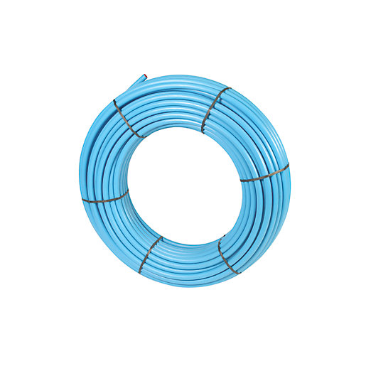 Wavin MDPE Blue Pipe Coil 32mm x 25m - 32PW025