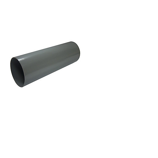 1 x Tetraflow 110MM PVC-U bend 90 Degree Grey Single Solvent Socket