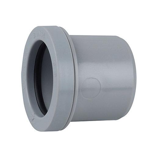 Wavin Osma Push-Fit Waste Reducer 40mm to 32mm Grey 5W084G