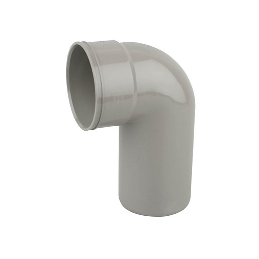 Wavin OsmaSoil Solvent Weld System Bend 90 Degree Long Tail Olive 110mm  4S260