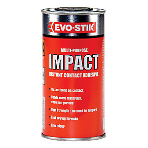 Evo-Stik Multi-Purpose Impact Instant Contact Adhesuve 250ml