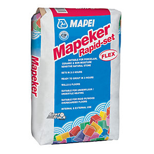 Mapeker Rapid Set Grey Tile Adhesive 20kg
