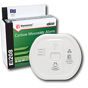 Aico EI208 Carbon Monoxide (Co) Alarm Lithium Battery