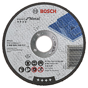 Bosch 2608600318 Metal Cutting Disc - 115mm