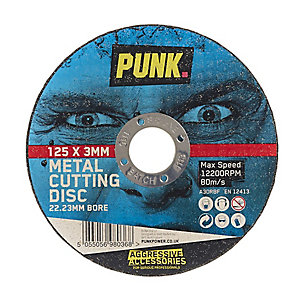 Punk Metal Cutting Disc - 125mm