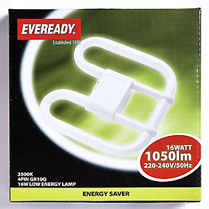 Eveready Energy Saving 2D Lamp 16W 4 PIN