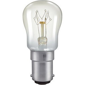 Crompton SBC Clear Sign Light Bulb - 15W