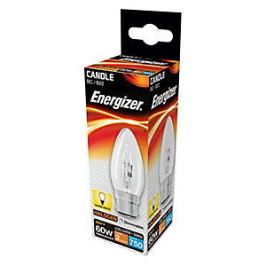 Energizer BC Candle Dimmable Light Bulb - 48W Eco