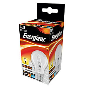 Energizer BC GLS Dimmable Light Bulb - 33W Eco