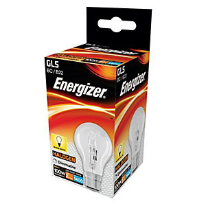 Energizer BC GLS Dimmable Light Bulb - 80W Eco