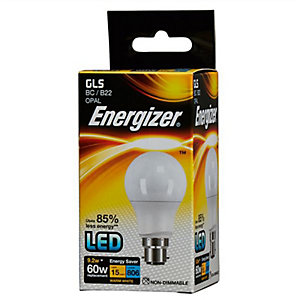 Energizer BC GLS LED Dimmable Light Bulb - 9.2W