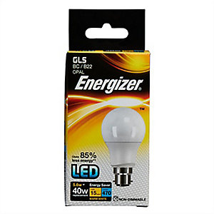 Energizer BC GLS LED Light Bulb - 5.6W