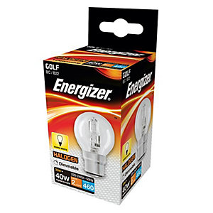 Energizer BC Golf Dimmable Light Bulb - 33W Eco