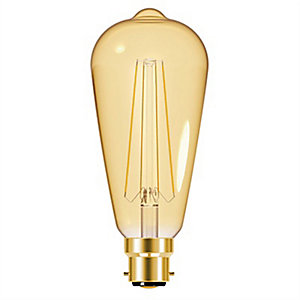 Energizer BC ST64 Gold Filament LED Dimmable Light Bulb - 5W