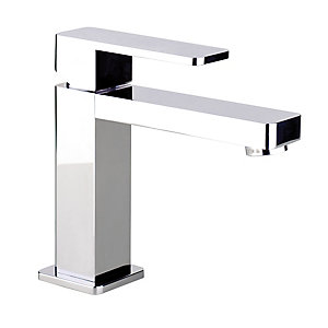 Abode Ab1241 Fervour Basin Monobloc Mixer Single Lever Chrome