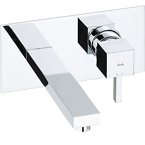 Abode Zeal Wall Mounted Wash Basin Mixer Chrome AB1276